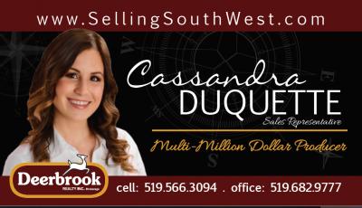 Cassandra Duquette, Realtor